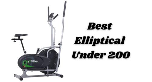 Best Elliptical Under 200