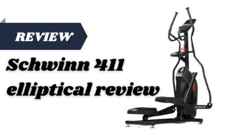 Schwinn 411 elliptical review
