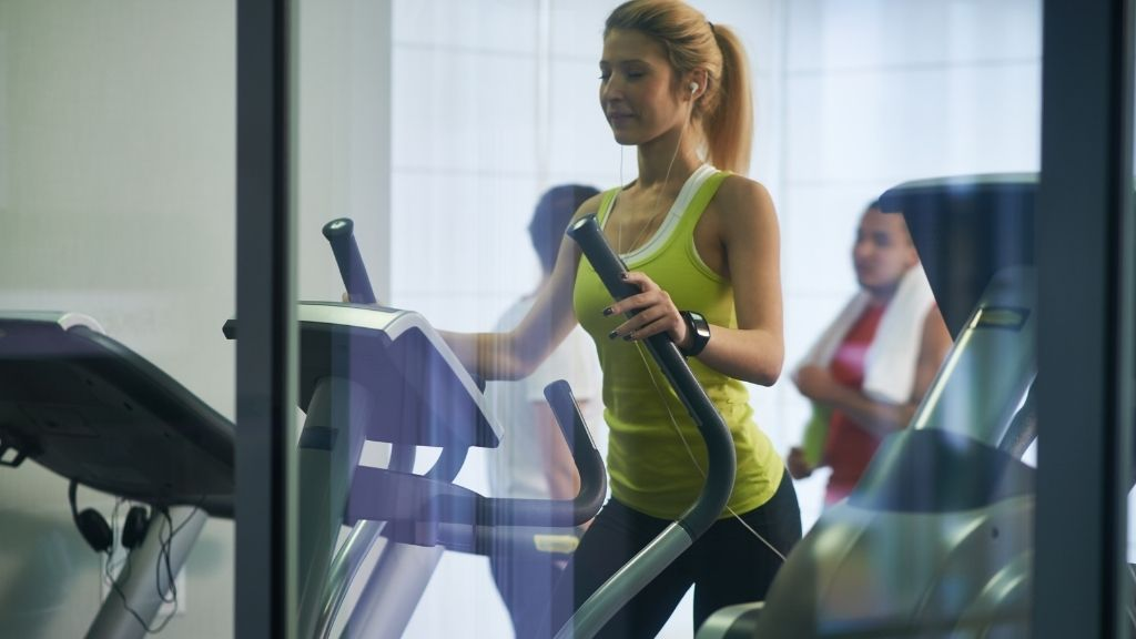 What muscles do ellipticals work